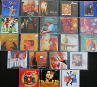 lot of 22 Soundtrack CDs etc. in VG Cond  FREE SHIPPING