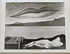 Man Ray Naked Lovers  Photo Reprint Time at the Observatory Offset Litho 14X11