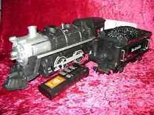 EZTEC LOCOMOTIVE TENDER R/C Rio Grande Train G Scale Sound 6 Battery Operated I