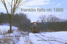 "Boston & Maine RR 1127 Franklin Falls NH  end of iron   4x6 "" photo"