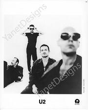 U2 Photo Bono Larry Mullen Adam Clayton Press Promo Photo 8x10