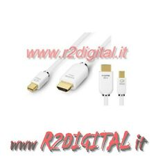 CABLE CONVERTIDOR MINI PANTALLA PUERTO HDMI MACHO MONITOR MACBOOK ADAPTADOR