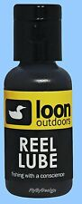 Loon Reel Lubricant and Water Repellent Reduces Wear