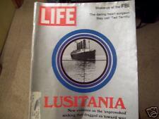 LIFE...OCTOBER 13, 1972.....LUSITANIA....
