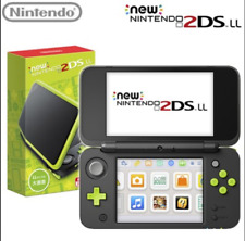 NEW Nintendo 2DS LL Console System Black × Lime Version JAN-S-MAAA