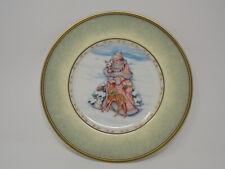 "Fitz & Floyd ""Winter Holiday"" Santa Portrait Santa Plate"