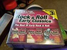 Origibal artists and recordings. Rock & Roll early classics.  3cd set, NIB. Rare