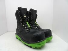 DUNLOP Men's 8'' Composite Toe Composite Plate Leather Work Boot DLNA16100 14M