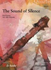 The Sound of Silence Quartet Recorder Series SSAA Score & Parts Sheet Music Book