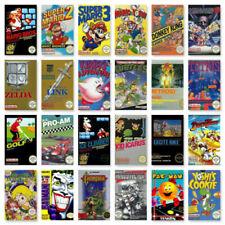 Nes / Nintendo Spiele-Wahl  Arcade  Action  Jump N Run  Racing