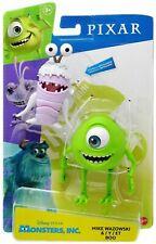 Disney Pixar MIKE WAZOWSKI & BOO Poseable Figure 2 Pack Monsters Inc Mattel