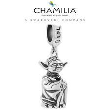 Brand New, Rare, Genuine, CHAMILIA 925 Sterling Silver STAR WARS YODA Charm
