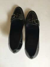 Circa Joan & David Women Heels, Black Patent Leather, 31/4 inch heel, Sz 6.5