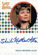 The Complete Lost in Space Sheila Mathews Allen as Ruth Templeton Auto Card