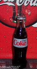2016 DIET COKE NEW DESIGN  8 OUNCE GLASS COCA COLA BOTTLE