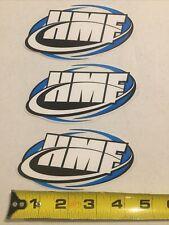 Hmf Racing Exhausts Mx Atv Gncc Motocross Dirtbike Decal Sticker Emblem Set Of 3