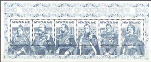 Nueva Zelanda 150 Aniv. del sellos de correos HB perfecta MNH