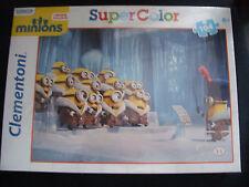 """Puzzle """"Minions"""" 104 Teile-CLEMENTONI (Super Color)-Neu , ungeöffnet-OVP"""