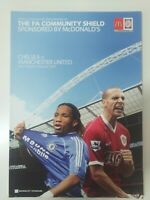 2007 COMMUNITY SHIELD PROGRAMME - CHELSEA V MANCHESTER UNITED