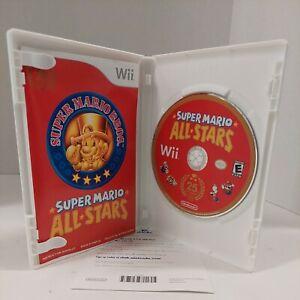 VERY Good Super Mario All-Stars Wii 25th Anniversary Edition Complete CIB