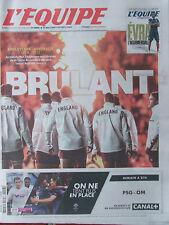 L'Equipe du 3/10/2015 - Coupe du monde de rugby Angleterre-Australie-PSG-OM -