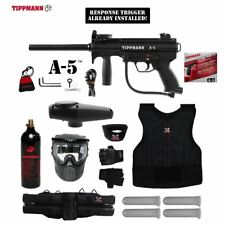 Tippmann Maddog A-5 Response Trigger Protective CO2 Paintball Gun Package