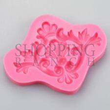 BELLISSIMO DESIGN VINTAGE stampo in silicone torta cupcake topper Sugarcraft Fondant R