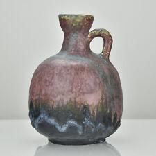 Ruscha Fat Lava Pottery Vase Jug Mid Century Modern Kurt Tschorner Era