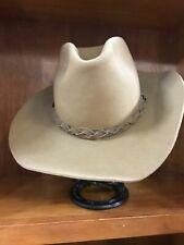 Vintage Stetson 4X Beaver Western Hat