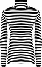 Collared Striped Casual Tops & Shirts for Women