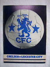 Orig.PRG   England  1.Division  1977/78   CHELSEA FC - LEICESTER CITY FC  !!