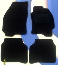 FORD FOCUS MK2 2004  to 2011 BLACK CAR MATS WITH RETAINING CLIPS B