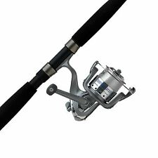 New ListingNew Black Cardinal Bruiser Spinning Reel And Saltwater Fishing Rod Combo
