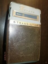 Vintage 1960s Zephyr 6 Transistor Radio, Model ZR-740, Japan