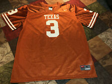 Texas Longhorns Nike Team Football Jersey #3 Size Extra Large (20) Youth