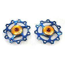 KCNC AL7075 Jockey Wheels Bike Bicycle Rear Derailleur Pulley 11T - Blue