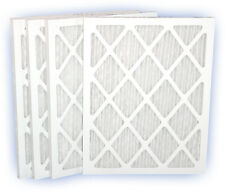 10x15x1 (9-3/4x14-3/4) DP Green 13 Pleated Panel Filter MERV 13 4-Pack