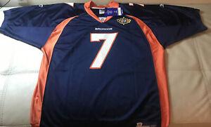 NWT Authentic Sewn Reebok Denver Broncos John Elway Super Bowl Jersey Size 56