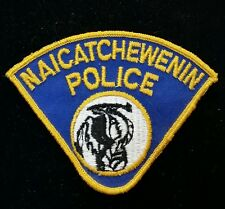 VINTAGE NAICATCHEWENIN, CANADA POLICE SHOULDER PATCH