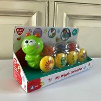 ☺ Jouet 1er Age Chenille Wiggly Des 6 Mois Play Go Neuf