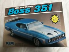 Ertl Mpc 1:25 1971 Ford Mustang Boss 351