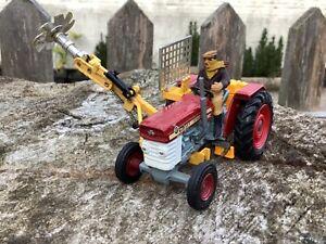 1/43 scale Corgi toys no 73 Massey Ferguson 165 tractor tracteur saw attachment
