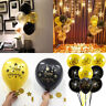 10PCS Latex Balloons Number Age 30 40 50 60 Happy Birthday Party Decor 10 inches