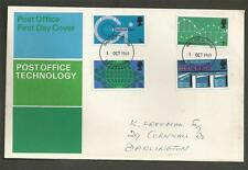 GREAT BRITAIN - 1969 Telecommunications   - FIRST DAY COVER.