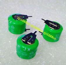 3PCS x Tabbed Ni-MH 3/V20H Rechargeable Battery 3.6V 20mAh PLC Data backup power