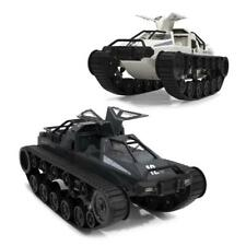 1:12 Scale Tracked Vehicle High Speed Drift Tank DIY Assembly RC Tank Kits