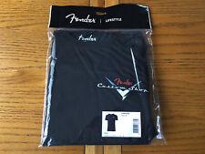 Fender Custom Shop Logo T-Shirt - (Black, Medium)