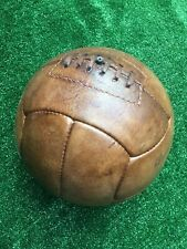 Oh! So! Sporty! Repro Vintage 1920's Style Brown Leather 12-Panel Football
