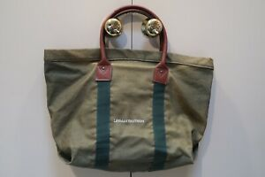 LEHMAN BROTHERS - COTTON & JUTE TOTE BAG