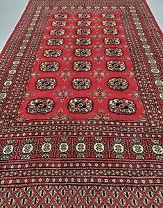 Silky Soft Shiny 4x6 Finest Peshawar Bokhara Traditional Wool Area Rug Bokara